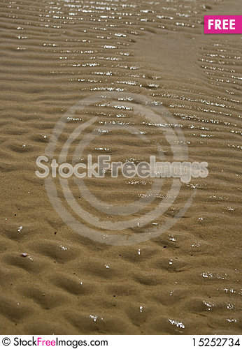 Free Relief Of Sea Sand Stock Images - 15252734