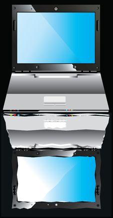 Free Modern Laptop Stock Image - 15250081