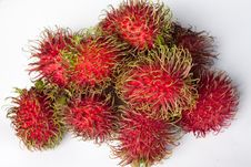 Free Image Of Rambutans Stock Photography - 15250152