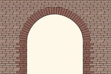 Free Brick Arch Stock Photography - 15250912