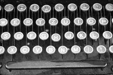 Free Vintage Typewriter Stock Photography - 15251512