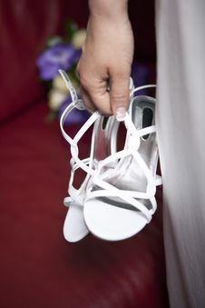 Free Wedding Shoes Stock Photo - 15252610