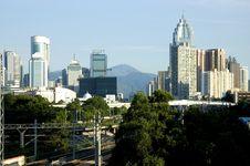 Modern Cityscape Stock Image