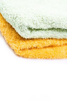 Free Towels Isolated Royalty Free Stock Images - 15253449