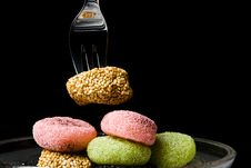 Free Sweet Is Taken With A Fork Royalty Free Stock Photo - 15254015