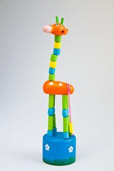 Free Fake Giraffe,toys Royalty Free Stock Image - 15254196