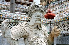 Free Statue In Grand Palace In Bangkok Stock Images - 15254264