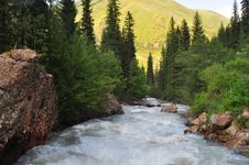 Free Central Asia Nature Scenics Royalty Free Stock Images - 15254829