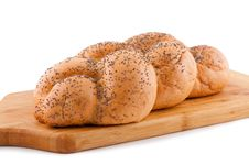 Free Bread Roll With Poppy. Royalty Free Stock Image - 15255266