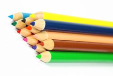 Free Color Pencil Royalty Free Stock Images - 15255539