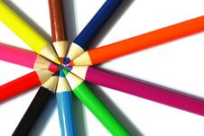 Free Color Pencil Royalty Free Stock Images - 15255589