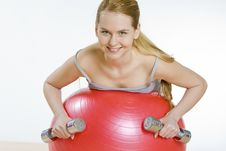 Free Exercising Woman Stock Photography - 15255722