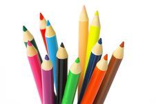 Free Color Pencil Royalty Free Stock Photography - 15255807