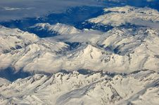 Free Alps Bird Eye View Royalty Free Stock Images - 15255819
