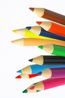 Free Color Pencil Stock Image - 15255851