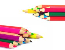 Free Color Pencil Royalty Free Stock Photos - 15255908