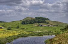 Free Hadrian S Wall And Crag Lough Royalty Free Stock Image - 15256016