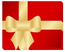 Free Golden Ribbon Royalty Free Stock Photo - 15257285