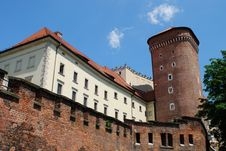 Free Royal Wawel Castle, Cracow Royalty Free Stock Photos - 15257398