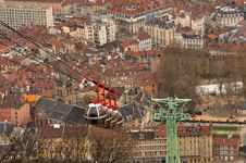 La Bastille Grenoble Stock Images
