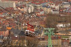 Free La Bastille Grenoble Stock Images - 15257614