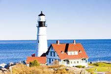 Free Portland Head Lighthouse Stock Image - 15257981