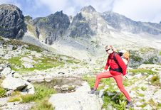 Free Woman Backpacker Royalty Free Stock Photos - 15258048