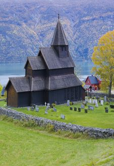 Free Church, Urnes Stavkirke Royalty Free Stock Images - 15258129