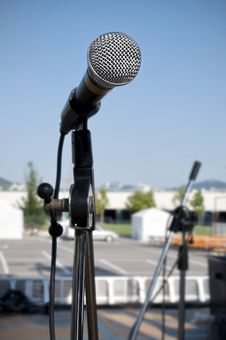 Free Microphone Royalty Free Stock Photo - 15258555