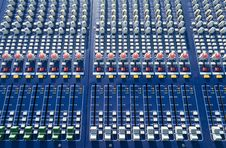 Free Mixer Console Stock Photography - 15258742