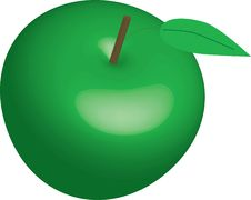 Free 3d Apple Royalty Free Stock Photography - 15258787