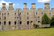 Free Windsor Castle Wall Stock Image - 15258961