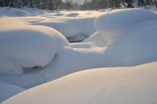 Free Dusk In The Snows Stock Image - 15259901
