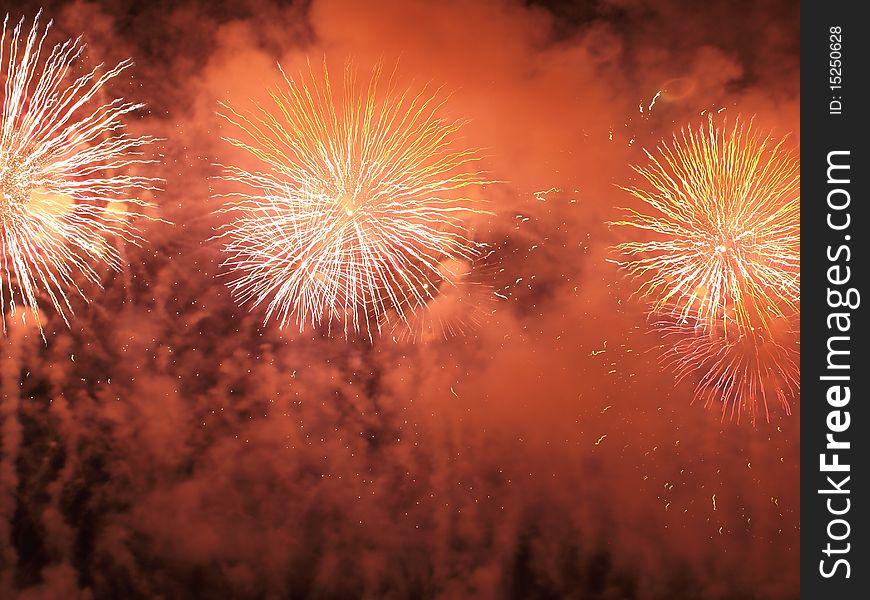 Beautiful fireworks III
