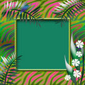 Free Tropic Scrapbook Page Stock Image - 15261701
