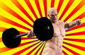 Free Strong Man Lifting Weight Royalty Free Stock Photography - 15268277