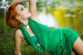 Free Woman Near The Lake Royalty Free Stock Images - 15269749