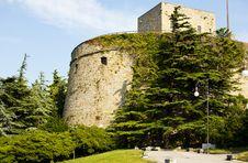 Free Castle San Giusto, Trieste Stock Image - 15260741