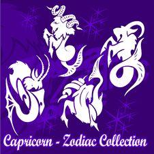 Free Capricorn. Royalty Free Stock Image - 15260886