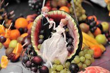 Free Fruit Wedding Plate Stock Photos - 15261643