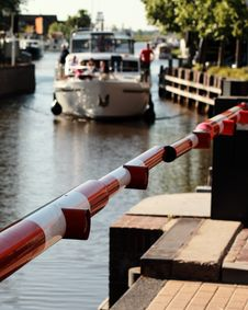 Free Boat On A Canal Royalty Free Stock Image - 15261656