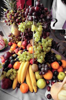 Free Fruit Plate Royalty Free Stock Image - 15262076