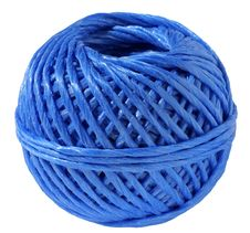 Free Ball Of A Blue Cord Stock Photos - 15262083
