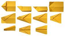 Free Paper Plane 07 Stock Image - 15262611