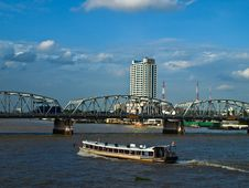 Free Boat Thai City Royalty Free Stock Photography - 15262837