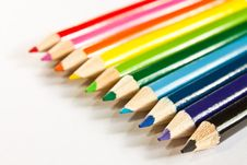 Free Colored Pencils Stock Photography - 15263392