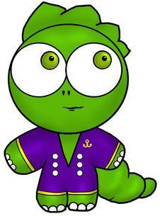 Free Green Baby Dragon Royalty Free Stock Photos - 15263428