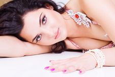 Free Portrait Of A Beautiful Young Woman Royalty Free Stock Photo - 15263985