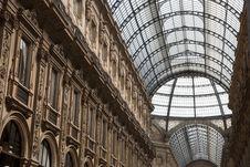 Free Vittorio Emanuele Shopping Gallery In Milan Stock Photos - 15264283