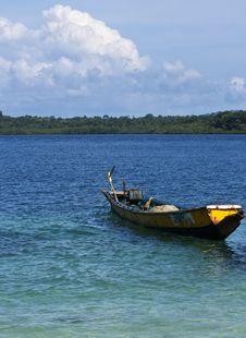 Free Rusty Fishing Boat Stock Photo - 15264810